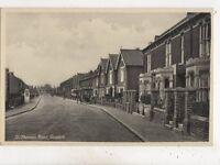 St Thomas Road Gosport Hampshire Vintage Postcard 653b
