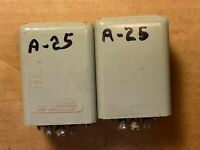 Pair of Vintage UTC A-25 Transformers Great Condition Guaranteed A25 Set of 2