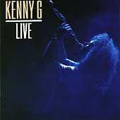 Kenny G Live Audio Music CD 11 Tracks Saxophone