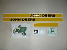DECAL SET GEN II 30 Series John Deere Toy Pedal Tractor Computer Cut Free Ship