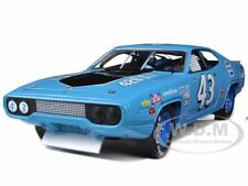 1971 PLYMOUTH ROAD RUNNER RICHARD PETTY BLUE/PEPSI #43 1/18 BY AUTOWORLD AW202