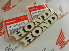 Honda CB 550 four k0-k2 Emblem réservoir tankemblem set Fuel tank BADGE EMBLEM KIT
