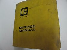 """Caterpillar D3 D8 Tractor 5.75"""" Bore 6 CYL Service Manual BINDER STAINS WORN"""