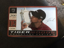 TIGER WOODS COLLECTOR SERIES 1 of 4 2000 US Open Champion Nike Golf Balls w/ Tin