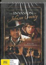 THE INVASION OF JOHNSON COUNTY - BILL BIXBY - CLASSIC NEW DVD - FREE LOCAL POST
