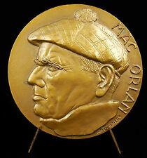Médaille Quai des brumes fantastique Pierre Mac Orlan né Pierre Dumarchey Medal