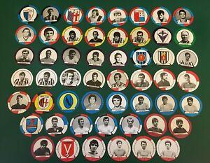 FIGURINA CALCIATORI BAGGIOLI 1971-72 CALCIO ROTONDO scegli dal menù a tendina