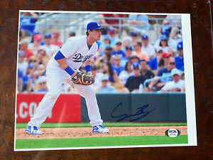 Cody Bellinger Signed 8x10 Photo Psa Dna Coa Autographed Los Angeles Dodgers