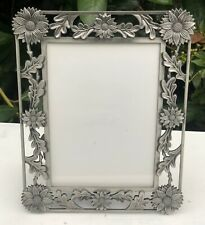 Art Nouveau Deco Style Sunflower Or Daisy Floral Design Photo Frame