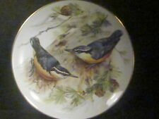 1985 World Wildlife Federation Corsican Nuthatch Birds Ltd Ed Plate