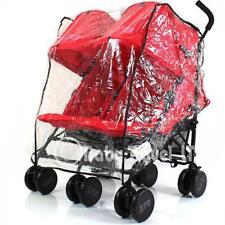 Heavy Duty Rain Cover To fit Bugaboo Donkey 2 Twin Stroller Mode