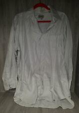 Nicole Miller Men's Dress Shirt Size 17 32/33 (32-Gray Long Sleeve #21