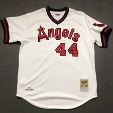 100% Authentic Reggie Jackson Mitchell Ness 1982 Angels Jersey Size 48 XL Mens