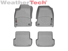 WeatherTech Floor Mats FloorLiner for Audi A4/S4/RS4 - 1st & 2nd Row - Grey
