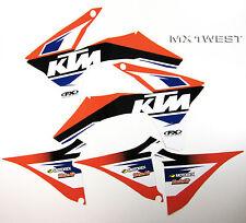 Factory Effex EVO 13 Graphics Shrouds Air Box KTM EXC 2012 2013 NEW