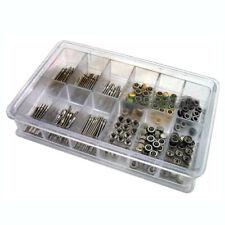 144 Pcs Watch Stem + Crown Parts Assortment Spare Parts Box Set