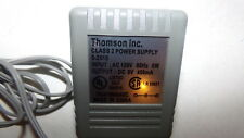 Thomson 5-2618 Class 2 Power Supply Dc 9V Adapter Ships Free!