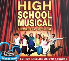 The High School Musical Cast CD + DVD Premiers Pas Sur Scène - Europe (VG+/EX)