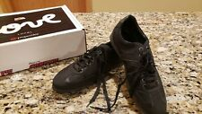 New 100% authentic Hugo boss men's shoes 10US BLACK LEATHER SNEAKERS