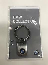 "BMW Pendant Key Ring ""Square"" Genuine BMW Lifestyle Range 80272454772"