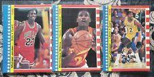 1987-88 Stickers Jordan 2nd Year-Lot.