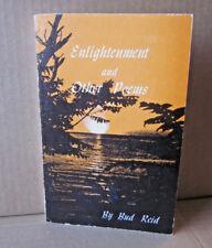 BUD REID poetry book Enlightenment & Other Poems 1975 school of Ozarks Missouri