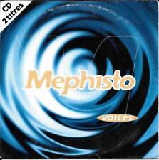 CD SINGLE 2 TITRES--MEPHISTO--VOICES--1996