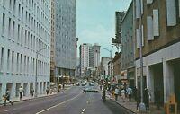 Atlanta, GA - Five Points District of Downtown Area - Street Level View