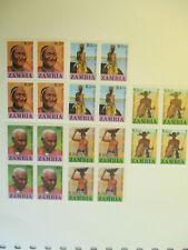 More details for zambia 433-437 traditional heritage 1987 mnh 5 blocks