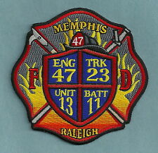 MEMPHIS TENNESSEE FIRE DEPARTMENT ENGINE 47 TRUCK 23 COMPANY PATCH