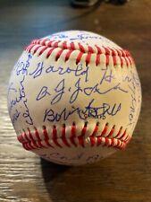 Negro League Baseball Legends signed autographed Baseball Negro Leagues