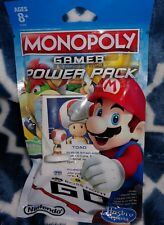 * NEW Monopoly Gamer Power Pack * TOAD * Sealed * Fast Free shipping