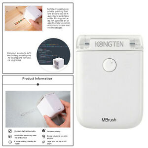 Handheld Color Printer Smallest Portable Wireless for T-shirts Metal Glass