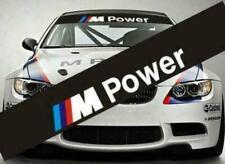 1x BMW M Power Auto Aufkleber Frontscheibe / hochwertige Oracal Folie!