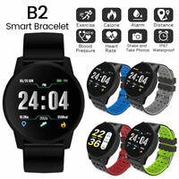 2019 B2 Bluetooth Smart Watch Suivi d'activité physique pour Android iOS G
