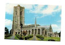 Suffolk - Lavenham, St. Peter & St. Paul's Church - Picture Postcard