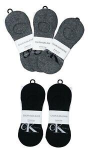 Calvin Klein 5-Pairs Retro Logo Sneaker Liner Men's Socks One Size NWT