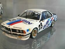 BMW 635 CSi DPM DRM 1984 Champion Meister #23 Strycek Gubin RAR Minichamps 1:18