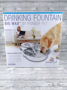 Pioneer Pet Big Max Drinking Fountain, 128 Ounces #3009 New Open Box