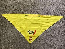Tour De France 2017 Caravan Memorabilia Yellow Bearn Pyrenees Neckerchief New