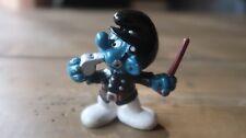 Vintage Smurf Figure - Policeman - 1981