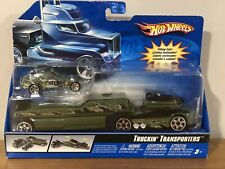 2006 Hot Wheels Truckin' Transporters ARMY HW 705th L3191 New In Package