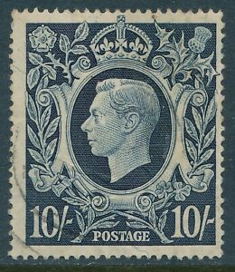 GB 1939-1948 DARK BLUE LIGHTLY USED SMALL FAULTS SG478 our ref C2