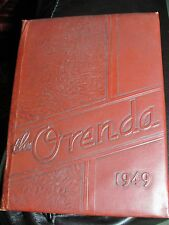 1949 Lamar High School, Houston, TX. - ORENDA Yearbook / River Oaks - LQQK
