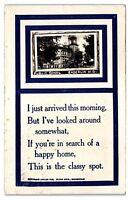 1912 RPPC Public School, Enderlin, ND Real Photo Postcard