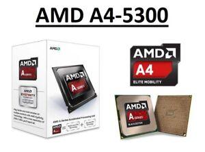 AMD A4-5300 Dual Core Processor 3.4 - 3.6 GHz, Socket FM2, 65W CPU