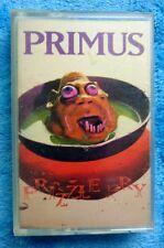 PRIMUS Frizzle Fry Cassette Tape 1990 Alternative Rock Caroline Les Claypool