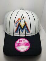 Miami Marlins women's snapback slouch style  Trucker hat cap MLB new