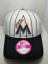 Miami Marlins women's snapback slouch style  Trucker hat cap mlb new