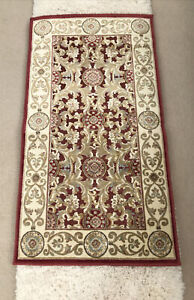 """Safavieh Paradise Rug 2'3""""X3'11"""" Red Gold Color 100% Viscose Chenille / NEW"""